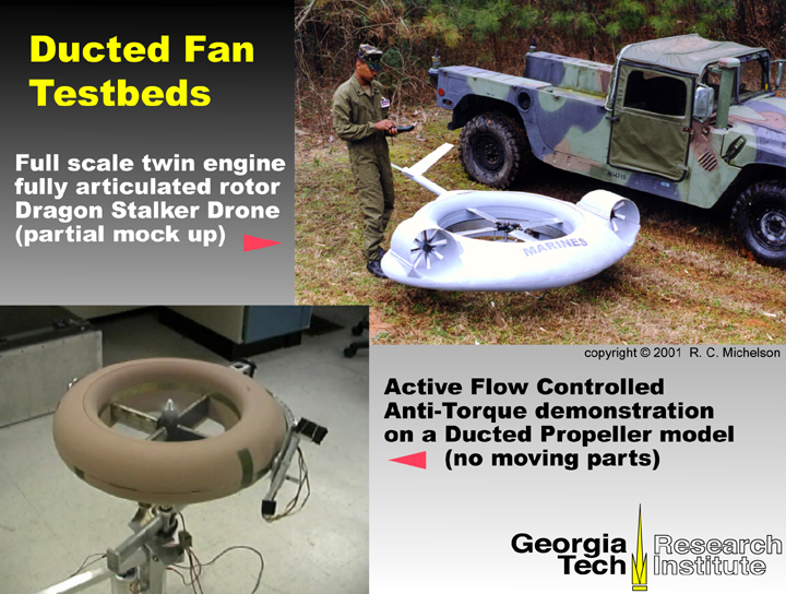 Building A Ducted Fan : About robert c michelson s drone project